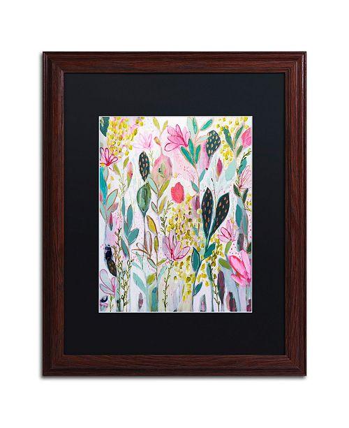 """Trademark Global Carrie Schmitt 'Meadow' Matted Framed Art - 16"""" x 20"""""""