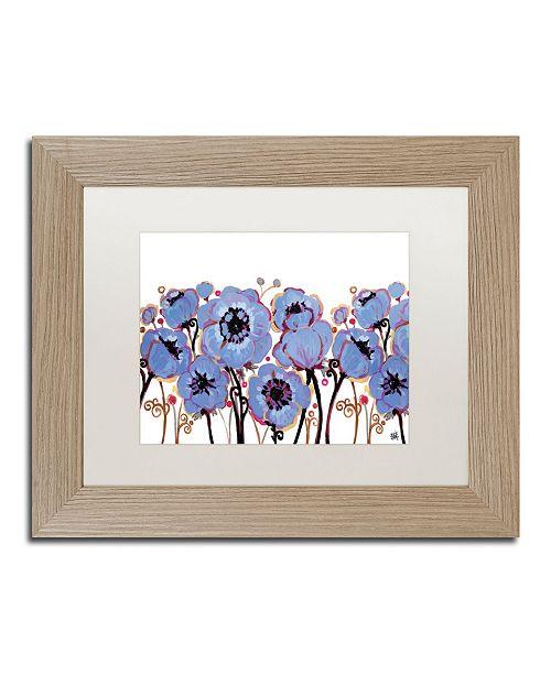 "Trademark Global Natasha Wescoat '005' Matted Framed Art - 11"" x 14"""