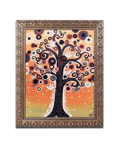 "Trademark Global Natasha Wescoat '015' Ornate Framed Art - 16"" x 20"""