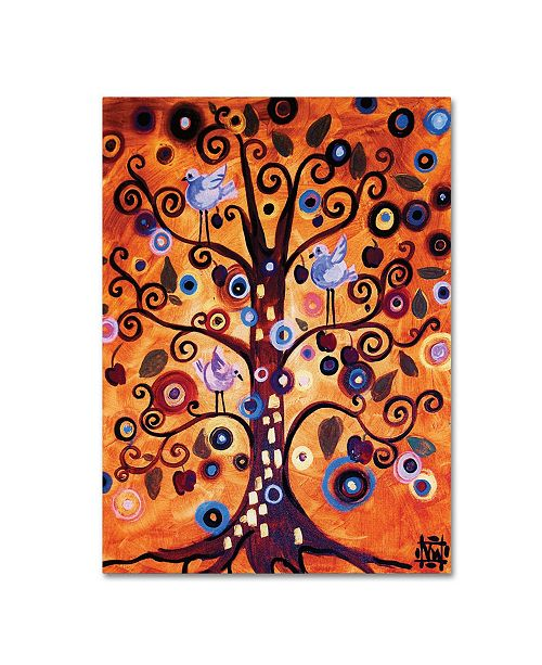 "Trademark Global Natasha Wescoat '016' Canvas Art - 18"" x 24"""