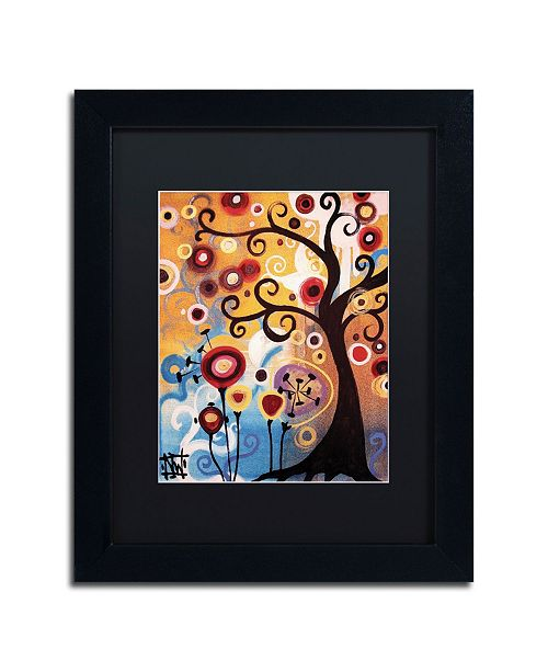 "Trademark Global Natasha Wescoat '017' Matted Framed Art - 11"" x 14"""