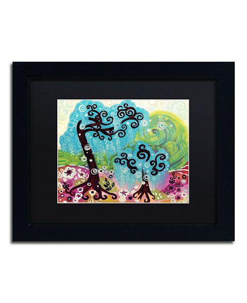 "Trademark Global Natasha Wescoat '032' Matted Framed Art - 11"" x 14"""