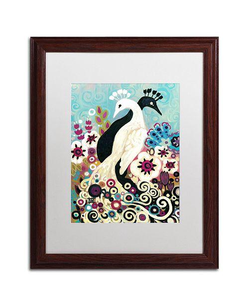 "Trademark Global Natasha Wescoat '043' Matted Framed Art - 16"" x 20"""