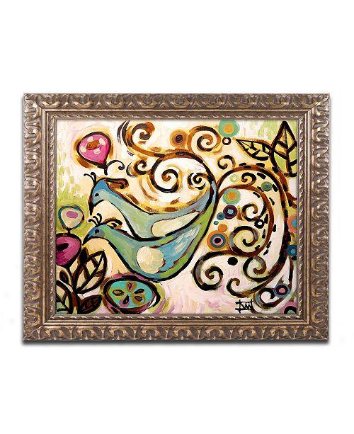 "Trademark Global Natasha Wescoat '045' Ornate Framed Art - 11"" x 14"""