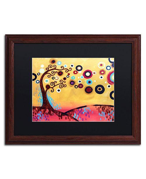 "Trademark Global Natasha Wescoat '087' Matted Framed Art - 16"" x 20"""