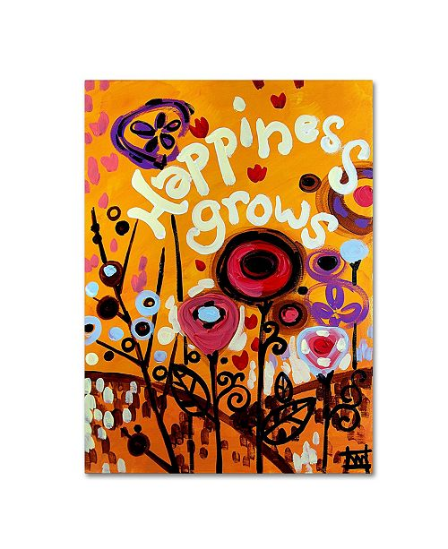 "Trademark Global Natasha Wescoat '106' Canvas Art - 14"" x 19"""