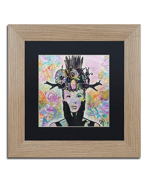 "Trademark Global Dean Russo 'Lucid' Matted Framed Art - 11"" x 11"""