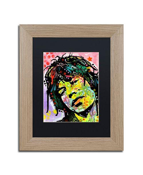 """Trademark Global Dean Russo 'Mick Jagger' Matted Framed Art - 11"""" x 14"""""""