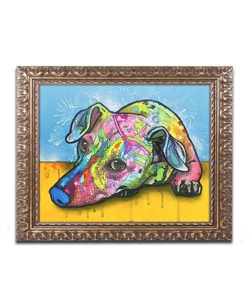 "Trademark Global Dean Russo 'I'm Waiting' Ornate Framed Art - 16"" x 20"""