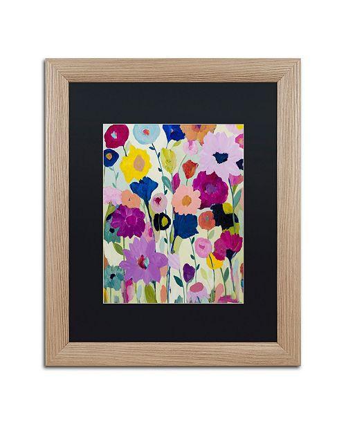 """Trademark Global Carrie Schmitt 'Blooms Have Burst' Matted Framed Art - 16"""" x 20"""""""