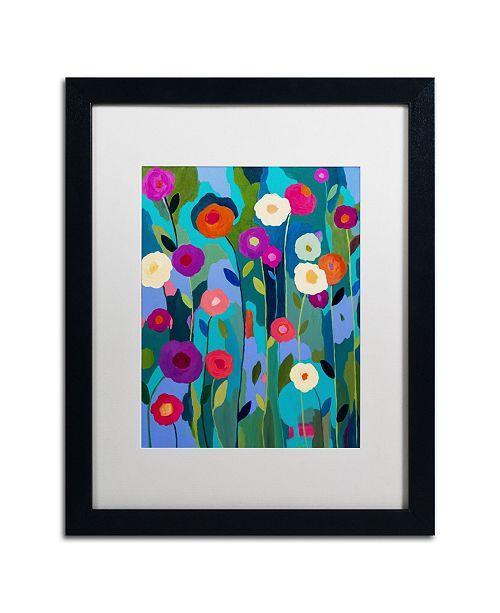 """Trademark Global Carrie Schmitt 'Good Morning Sunshine' Matted Framed Art - 16"""" x 20"""""""