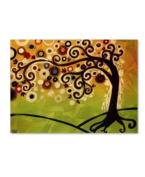 "Trademark Global Natasha Wescoat '143' Canvas Art - 14"" x 19"""