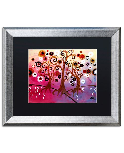"Trademark Global Natasha Wescoat 'Infinite Treasures' Matted Framed Art - 16"" x 20"""