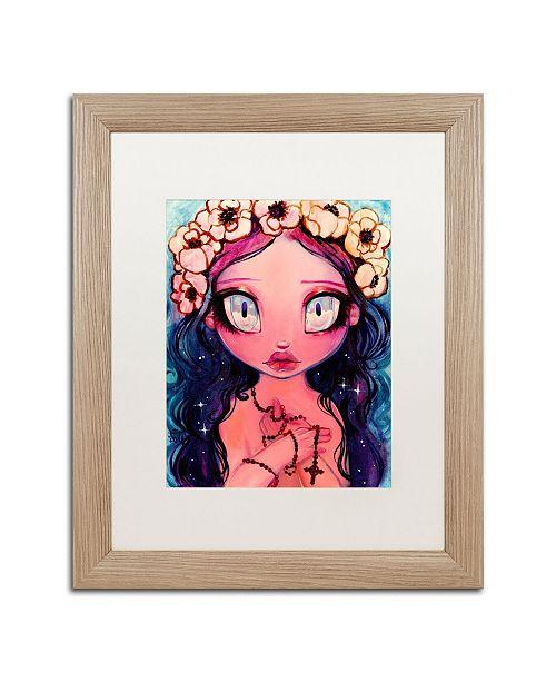 "Trademark Global Natasha Wescoat 'Rosary' Matted Framed Art - 16"" x 20"""