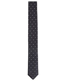 BOSS Men's Italian-Made Dot-Print Tie