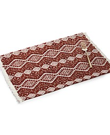 Spice Woven Placemat with Fringe