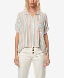 O'Neill Juniors' Ogier Striped Shirt