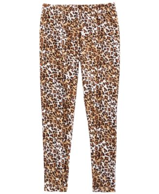 Big Girls Cheetah-Print Leggings, Created for Macy's
