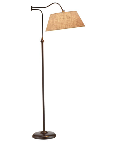 Adesso rodeo floor lamp furniture macy39s for Macy s torchiere floor lamp