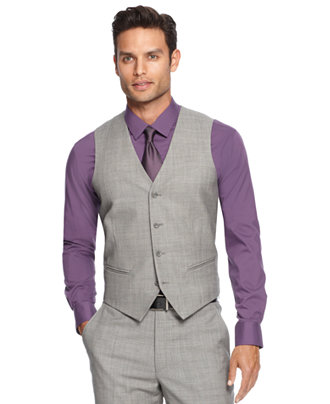 Mens Grey Dress Pants And Vest - Gowns and Dress Ideas