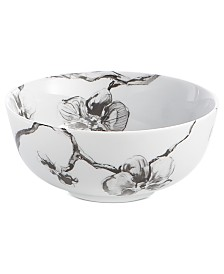Michael Aram Dinnerware, Black Orchid All Purpose Bowl