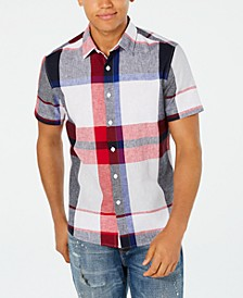 Men's Large Scale Plaid Shirt