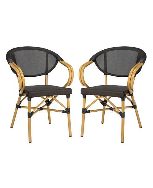 Safavieh Burke Stacking Arm Chair