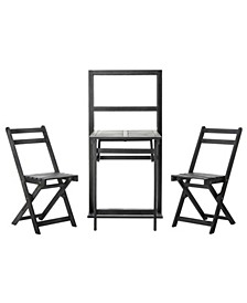 Griffen Balcony Dining Cabinet Set
