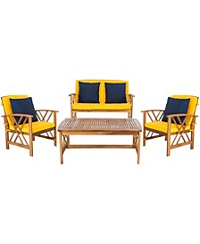 Fontana 4Pc Outdoor Seating Set