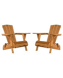 Breetel Set Of 2 Adirondack Chairs, Quick Ship