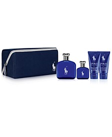 Men's 5-Pc. Polo Blue Eau de Toilette Gift Set