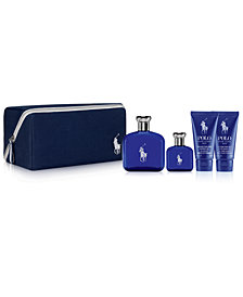 Ralph Lauren Men's 5-Pc. Polo Blue Eau de Toilette Gift Set