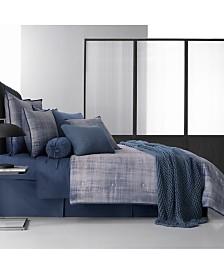Oscar|Oliver Theodora Queen Blue Comforter Set