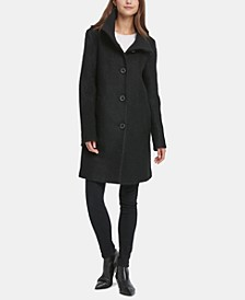 Stand-Collar Walker Coat, Created for Macy's