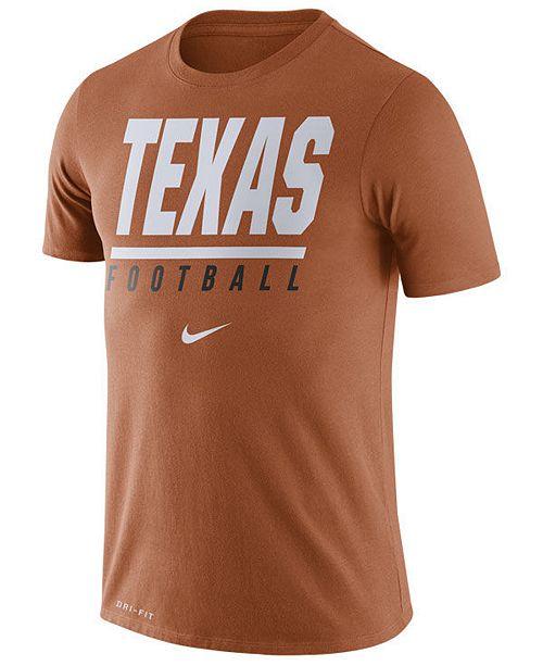 Nike Men's Texas Longhorns Icon Wordmark T-Shirt