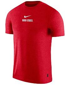 Nike Men's Ohio State Buckeyes Dri-FIT Coaches Top