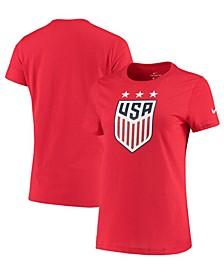 Women's USA National Team Evergreen Crest T-Shirt