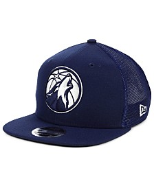 New Era Minnesota Timberwolves Dub Fresh Trucker 9FIFTY Snapback Cap