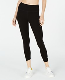 Calvin Klein Performance Camo-Logo High-Waist Leggings