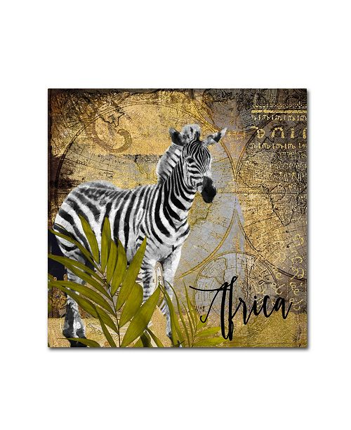 "Trademark Global Color Bakery 'Taste Of Africa IV' Canvas Art - 18"" x 18"""