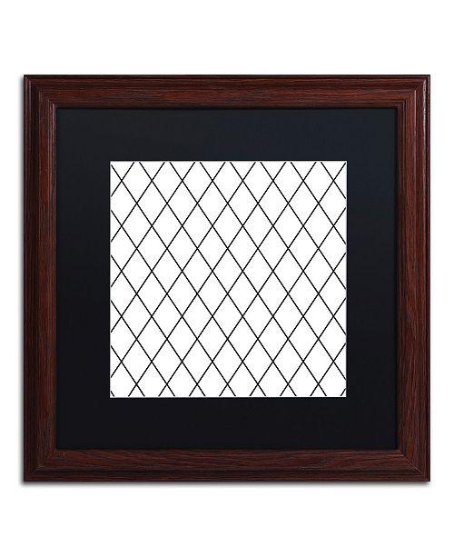 "Trademark Global Color Bakery 'Group 04 B' Matted Framed Art - 16"" x 16"""