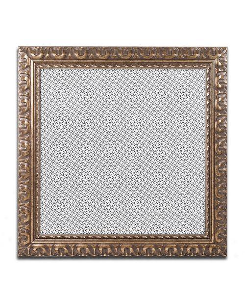 """Trademark Global Color Bakery 'Group 06 B' Ornate Framed Art - 16"""" x 16"""""""