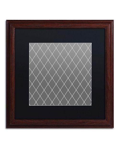 "Trademark Global Color Bakery 'Group 08 B' Matted Framed Art - 16"" x 16"""