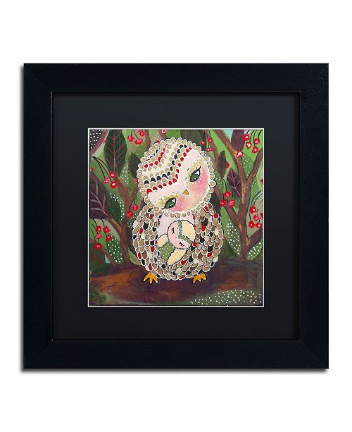 "Trademark Global Carrie Schmitt 'You Are My Home' Matted Framed Art - 11"" x 11"""