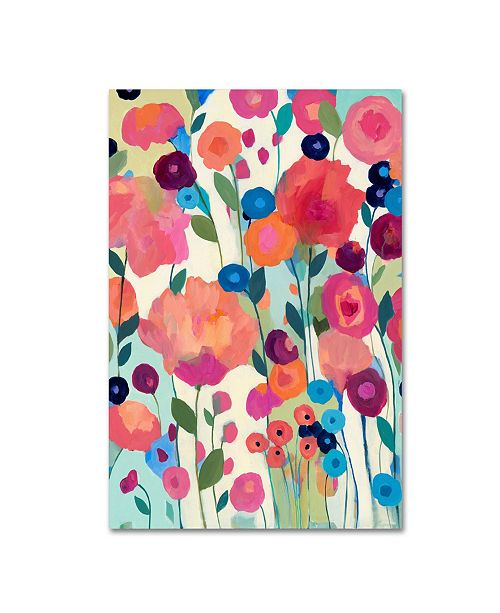 """Trademark Global Carrie Schmitt 'How'd You Get So Pretty' Canvas Art - 22"""" x 32"""""""