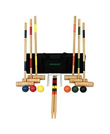 Gener8 Wood Croquet Set
