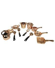 Group Sales Copper Kitchen Playset 14 Piece