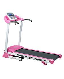 Sunny Health and Fitness Pink Treadmill