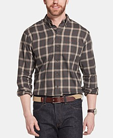 Men's Heritage Classic-Fit Plaid Twill Shirt