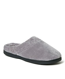 Women's Darcy Velour Clog With Quilted Cuff Slipper